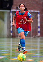 20190915– HALLE , BELGIUM : FP Halle-Gooik Girls B's captain Melinda Nuhiji is pictured during the Belgian Women's Futsal D1 match between FP Halle-Gooik A and FP Halle-Gooik B on Sunday 15th 2019 at the De Bres Sport Complex in Halle, Belgium. PHOTO SPORTPIX.BE | Sevil Oktem