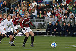 05 December 2008: Stanford's Allison McCann (22). The Notre Dame Fighting Irish defeated the Stanford Cardinal 1-0 at WakeMed Soccer Park in Cary, NC in an NCAA Division I Women's College Cup semifinal game.