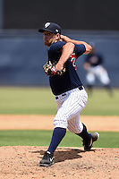 Tampa Yankees pitcher Zach Woods (22) during a game against the Daytona Cubs on April 13, 2014 at George M. Steinbrenner Field in Tampa, Florida.  Tampa defeated Daytona 7-3.  (Mike Janes/Four Seam Images)