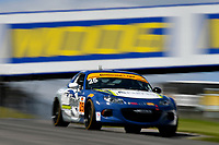 IMSA Continental Tire SportsCar Challenge<br /> Mobil 1 SportsCar Grand Prix<br /> Canadian Tire Motorsport Park<br /> Bowmanville, ON CAN<br /> Saturday 8 July 2017<br /> 25, Mazda, Mazda MX-5, ST, Chad McCumbee, Stevan McAleer<br /> World Copyright: Scott R LePage/LAT Images