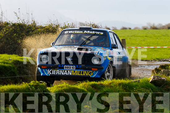 Keith Moriarty from Newcastlewest navigating Gary Kiernan from Cavan won the Banna Beach Resort hotel sponsored,  KMC Winter Stages Rally last Sunday with a massive margin of over 2minutes.
