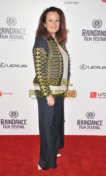 Laura Giovanni at the &quot;Bees Make Honey&quot; Raindance Film Festival UK film premiere, Vue West End cinema, Leicester Square, London, England, UK, on Saturday 23 September 2017.<br /> CAP/CAN<br /> &copy;CAN/Capital Pictures
