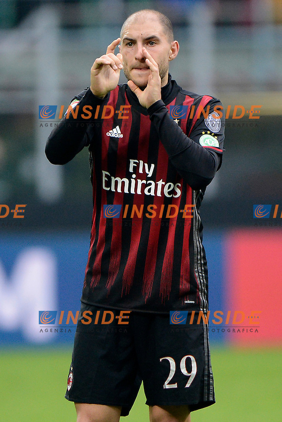 Gabriel Paletta Milan<br /> Milano 4-12-2016 Stadio Giuseppe Meazza - Football Calcio Serie A Milan - Crotone Foto Giuseppe Celeste / Insidefoto