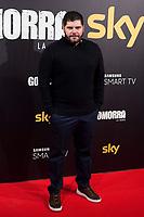 Actor Salvatore Esposito attends to presentation 'Gomorra', tv series of Sky in Madrid, Spain. January 25, 2018. (ALTERPHOTOS/Borja B.Hojas/Insidefoto)