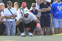 Adrian Otaegui (ESP) on the 17th green during Sunday's Final Round of the 2018 Turkish Airlines Open hosted by Regnum Carya Golf &amp; Spa Resort, Antalya, Turkey. 4th November 2018.<br /> Picture: Eoin Clarke | Golffile<br /> <br /> <br /> All photos usage must carry mandatory copyright credit (&copy; Golffile | Eoin Clarke)