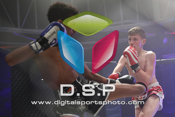 Jamie Breslin Vs Ayman Chibara - N Class Thai JNR During Fast and Furious Fight Series 17. Photo by: Stephen Smith<br /> <br /> Saturday 18th November 2017 - Oceana, Southampton, Hampshire, United Kingdom.