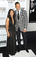 "Will Smith, Jada Pinkett Smith attending the ""Men In Black 3"" New York Premiere, held at the Ziegfeld Theater in New York City on 23.05.2012.credit: Jennifer Graylock/face to face.- No Italy, UK, Australia, France -"