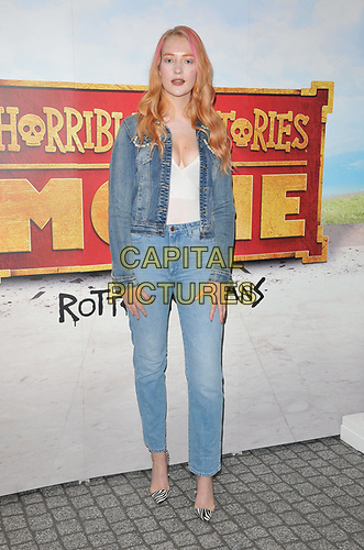 "Victoria Clay at the ""Horrible Histories: The Movie - Rotten Romans"" world film premiere, Odeon Luxe Leicester Square, Leicester Square, London, England, UK, on Sunday 07th July 2019.<br /> CAP/CAN<br /> ©CAN/Capital Pictures"