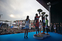 E3 Prijs Harelbeke.podium flowers