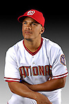 25 February 2007: Washington Nationals infielder Bernie Castro poses for his Photo Day portrait at Space Coast Stadium in Viera, Florida.<br /> <br /> Mandatory Photo Credit: Ed Wolfstein Photo<br /> <br /> Note: This image is available in a RAW (NEF) File Format - contact Photographer.