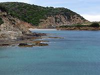 GIU 2010 Sardegna, spiaggia di Torre di Chia.JUN 2010 Sardinia, Torre di Chia beach