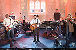They haven't played together for 25 years but last night (Monday) in Dingle aging rockers 'Horslips' played one gig in St. james's Church in Dingle.The band from left, Barry Devlin, Eamonn Carr, Johnny Fean, Jim Lockhart and Charles O'Connor recorded the session for the programme  'Other Voices', the  RTE programme will air early next year.<br /> Picture by Don MacMonagle