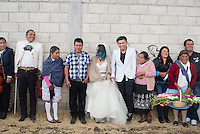 Graciela Garcia Estaban (Grace) and Rafael Marquez Perez´s wedding in the Mazahua community of San Miguel la Labor, Estado de Mexico