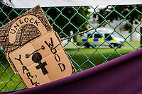 "06.06.2015 - ""Shut Down Yarl's Wood"" - Protest at the Immigration Removal Centre"