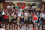 21ST CELEBRATIONS: Shaun Brennan, Ballyroe (seated 4th left) having great fun celebrating his 21st birthday with a very large group of family and friends at the Imperial Hotel on Saturday.