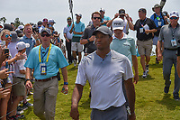 Tiger Woods (USA) departs 18 following his round 3 of The Players Championship, TPC Sawgrass, at Ponte Vedra, Florida, USA. 5/12/2018.<br /> Picture: Golffile | Ken Murray<br /> <br /> <br /> All photo usage must carry mandatory copyright credit (&copy; Golffile | Ken Murray)