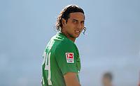 FUSSBALL   1. BUNDESLIGA   SAISON 2011/2012    8. SPIELTAG Hannover 96 - SV Werder Bremen                             02.10.2011 Claudio PIZARRO (Bremen)