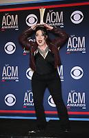 07 April 2019 - Las Vegas, NV - Ashley McBryde. 54th Annual ACM Awards Press Room at MGM Grand Garden Arena. Photo Credit: MJT/AdMedia