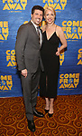 "Kelly Devine attends the ""Come From Away"" Broadway Opening Night After Party at Gotham Hall on March 12, 2017 in New York City."