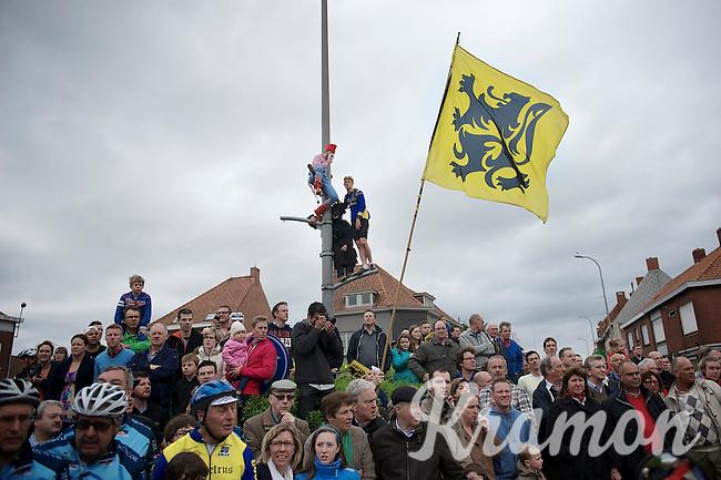 fans along the route<br /> <br /> Ronde van Vlaanderen 2014
