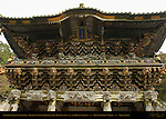 Yomeimon Gate to Honsha Central Shrine with over 500 Sculptures Nikko Toshogu Shrine Nikko Japan
