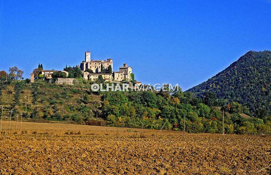 Castelo Antognola em Corciano, Itália. 1998. Foto de Vinicius Romanini.