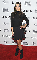NEW YORK, NY - OCTOBER 04: Alina Puscau attends the 'UNA' New York VIP screening at Landmark Sunshine Cinema on October 4, 2017 in New York City. <br /> CAP/MPI/JP<br /> &copy;JP/MPI/Capital Pictures