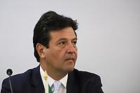 SÃO PAULO, SP, 01.11.2019 - POLITICA-SP - Luiz Henrique Mandetta, Ministro da Saúde do Brasil, participa da XLV Reunião de Ministros da Saúde dos Estados Partes e Associados do Mercosul, no Instituto Butanta em São Paulo, nesta sexta-feira, 1. (Foto Charles Sholl/Brazil Photo Press)
