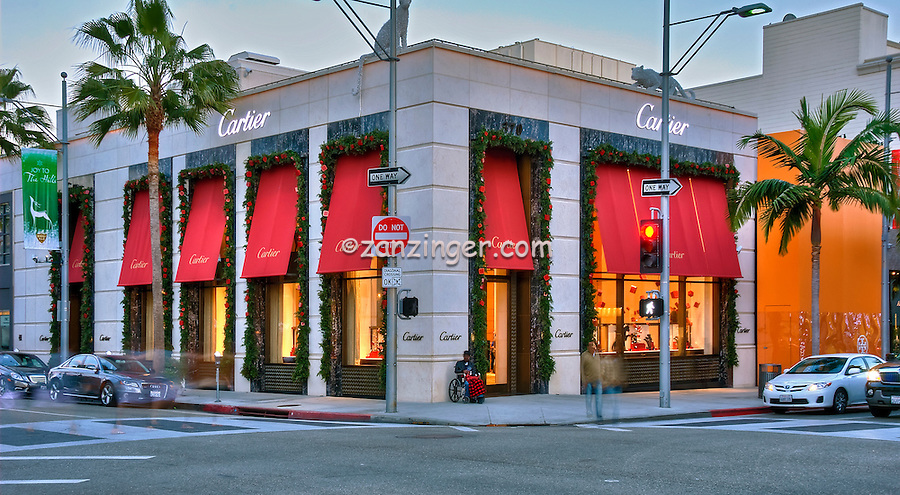 Cartier, fine, classic jewelry, Rodeo Drive, Beverly Hills, CA