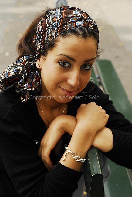 Faiza Guene, French writer in 2006.