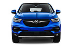 Car photography straight front view of a 2018 Opel Grandland X Innovation 5 Door SUV