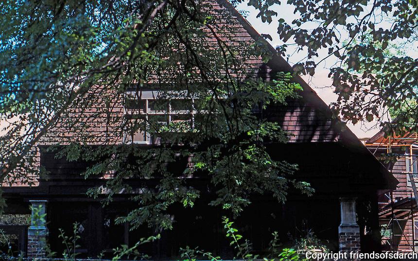 F.L. Wright: House, Oak Park, 188.  Photo '76.