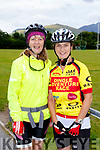 Patricia O'Sullivan Beaufort and Vivian Juffs Caragh Lake at the Ring of the Reeks cycle in Beaufort on Saturday