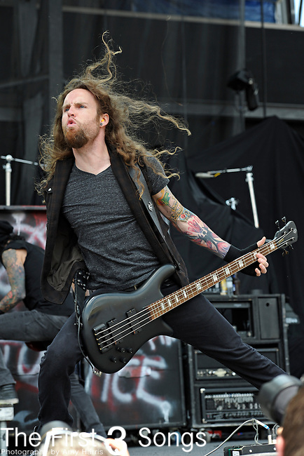 Matt McCloskey of Rev Theory performs during the 2011 Rock On The Range festival at Columbus Crew Stadium on May 21, 2011 in Columbus, Ohio.
