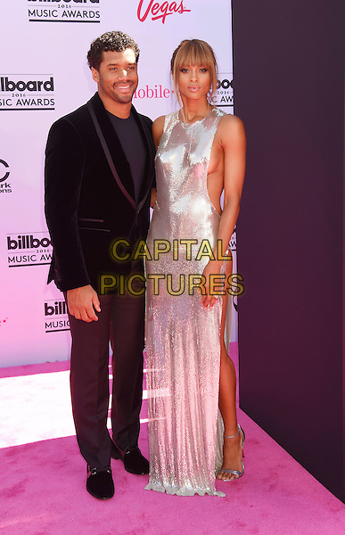 LAS VEGAS, NV - MAY 22: NFL player Russell Wilson (L) and singer Ciara attend the 2016 Billboard Music Awards at T-Mobile Arena on May 22, 2016 in Las Vegas, Nevada.<br /> CAP/ROT/TM<br /> &copy;TM/ROT/Capital Pictures