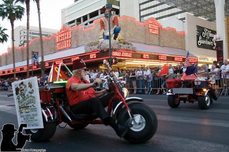 Fremont Street Experience 2009 Helldorado Parade