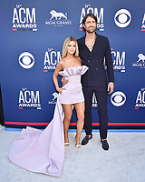 LAS VEGAS, CA - APRIL 07: Maren Morris (L) and Ryan Hurd attend the 54th Academy Of Country Music Awards at MGM Grand Hotel &amp; Casino on April 07, 2019 in Las Vegas, Nevada.<br /> CAP/ROT/TM<br /> &copy;TM/ROT/Capital Pictures