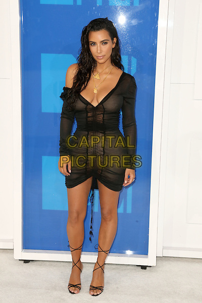 NEW YORK - AUGUST 28: Kim Kardashian West arrives at the 2016 MTV Video Music Awards at Madison Square Garden on August 28, 2016 in New York City.<br /> CAP/MPI99<br /> &copy;MPI99/Capital Pictures