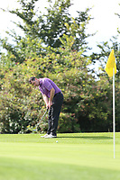 Des Morgan (Carton House) during the 2017 AIG Leinster Senior Cup Final at Malahide Golf Club.. 27/08/2017<br /> <br /> Picture Jenny Matthews / Golffile.ie<br /> <br /> All photo usage must carry mandatory copyright credit (&copy; Golffile | Jenny Matthews)