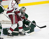 Desmond Bergin (Harvard - 37), Charles Grant (Dartmouth - 30) - The Harvard University Crimson defeated the Dartmouth College Big Green 5-2 to sweep their weekend series on Sunday, November 1, 2015, at Bright-Landry Hockey Center in Boston, Massachusetts. -