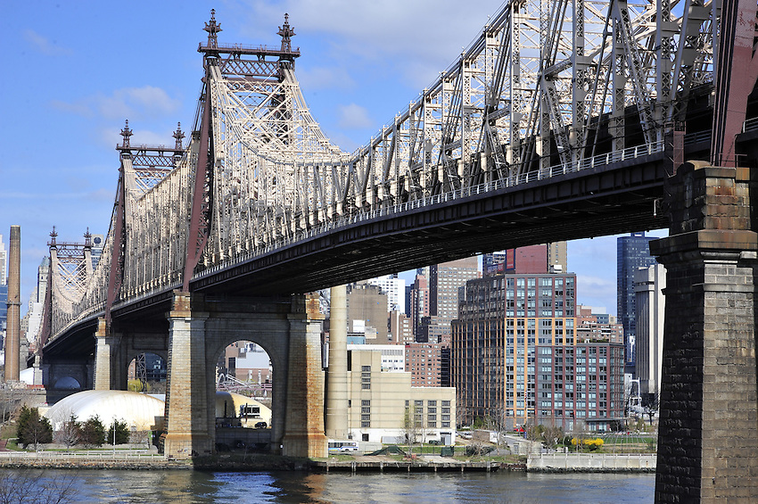 Ed Koch Queensboro Bridge, which links Long Island City in Queens to Manhattan.