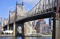 Ed Koch Queensboro Bridge, which links Long Island City in Queens to Manhattan.