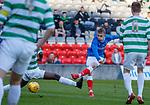 30.04.18 Glasgow Cup Final Rangers v Celtic : Ciaran Dickson scores goal no 2 for Rangers