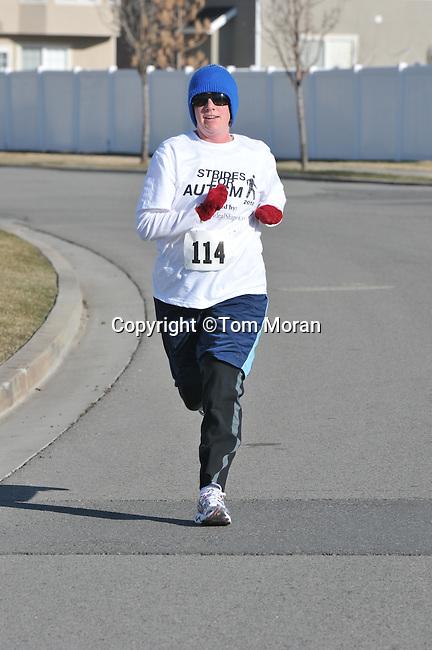 Strides for Autism 5K   Lehi, Utah  March 27, 2010