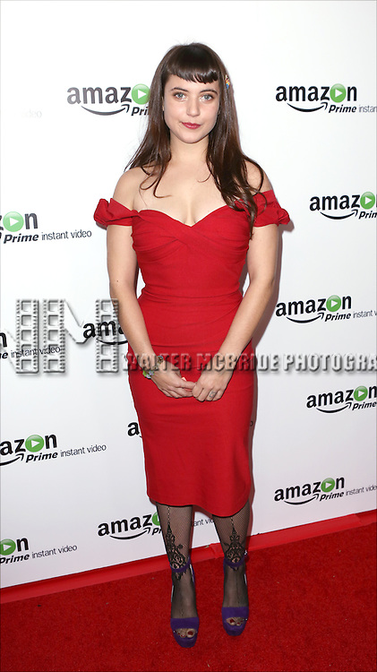 Hannah Dunne attending the Amazon Red Carpet Premiere for 'Mozart in the Jungle' at Alice Tully Hall on December 2, 2014 in New York City.