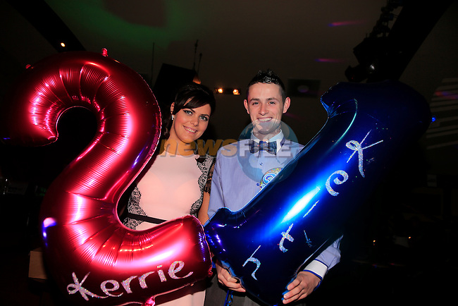 Kerrie and Keith Smith 21th<br /> Picture: www.newsfile.ie