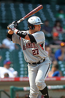Dante Bichette Jr (27) during the 2010 Under Armour All-American Game powered by Baseball Factory at Wrigley Field in Chicago, New York;  August 14, 2010.  Photo By Mike Janes/Four Seam Images