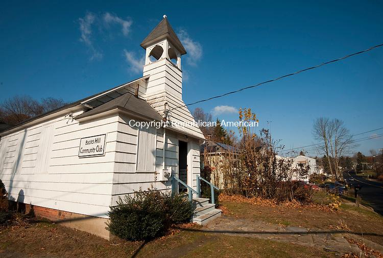 WATERBURY,  CT-111716JS09- The Bucks Hill Community Center at the center on Bucks Hill Road in Waterbury. <br /> Jim Shannon Republican American