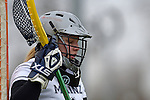 GER - Mainz, Germany, March 20: During the 1. Bundesliga Damen lacrosse match between Mainz Musketeers (white) and SC Frankfurt 1880 (red) on March 20, 2016 at Sportgelaende Dalheimer Weg in Mainz, Germany. Final score 7-12 (HT 3-5). (Photo by Dirk Markgraf / www.265-images.com) *** Local caption *** Nicole Roesner #1 of Mainz Musketeers
