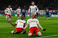 10th March 2020, Red Bull Arena, Leipzig, Germany; EUFA Champions League, RB Leipzig v Tottenham Hotspur;  Marcel Sabitzer Leipzig celebrate his 2nd goal for 2-0